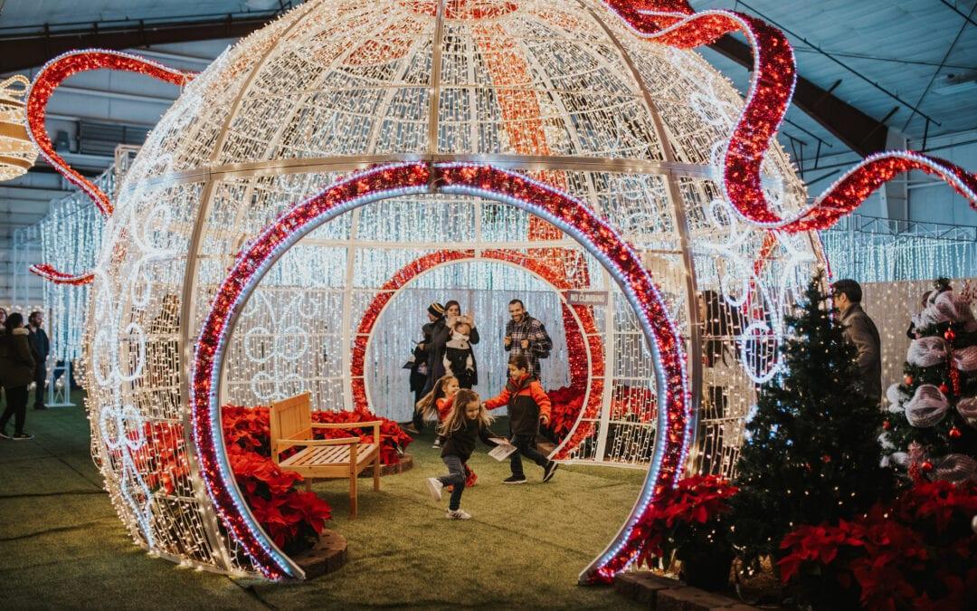 Luminova Holidays Globe Life Field