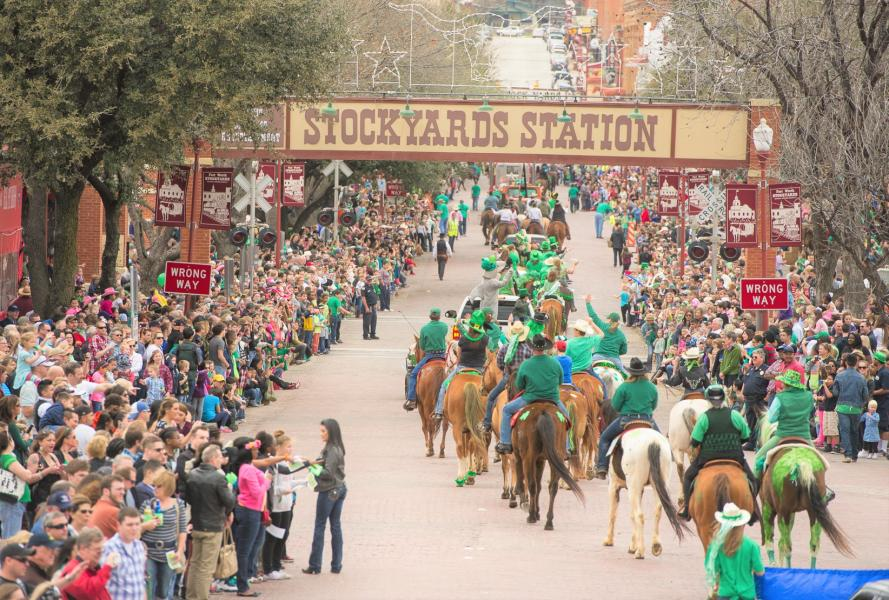 Your Guide to St. Paddy's Day in Fort Worth!