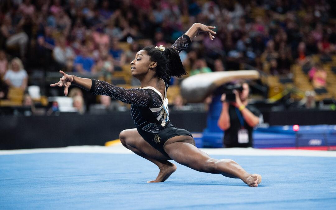 Simone Biles Headlines Athleta Presents Gold Over America Tour
